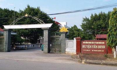 Thanh Hóa chỉ đạo làm rõ vụ huyện ủy, UBND huyện bị tố nợ 52 tỷ đồng
