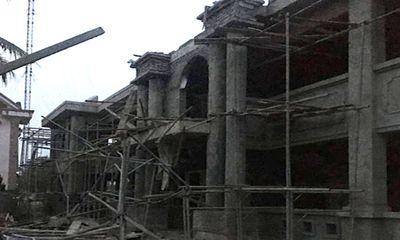 Hà Tĩnh: Sập mái công trình xây dựng ở UBND xã, 1 thợ xây tử vong thương tâm