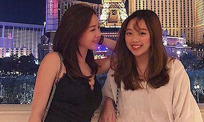 Hoa hậu Thu Hoài xót xa khi con gái xinh như mộng ở lại Mỹ giữa