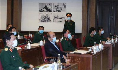 Thủ tướng biểu dương toàn quân 'vì nhân dân quên mình' chống đại dịch Covid-19