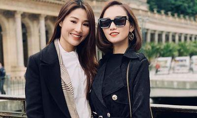 Ảnh hậu trường đẹp như chụp họa báo của Diễm My 9X, Lã Thanh Huyền ở phim