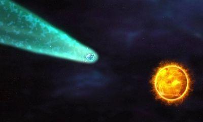 Video: Sao chổi đang bay gần tới Trái Đất và sáng rực như Mặt Trăng