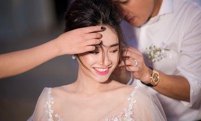 Hé lộ bộ ảnh cưới đẹp như bìa tạp chí của Trường Giang – Nhã Phương sau hơn 1 năm kết hôn