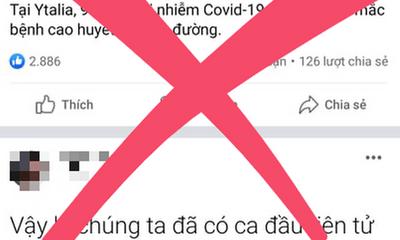 Tung tin có người chết vì Covid-19, chủ Facebook Nguyễn Sin bị mời làm việc
