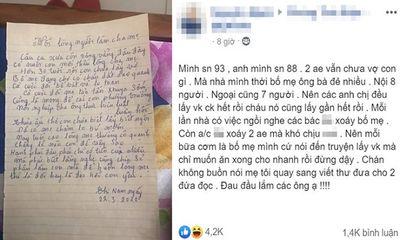 2 anh em không chịu lấy vợ, bố mẹ viết tâm thư thúc giục, đọc xong ai cũng