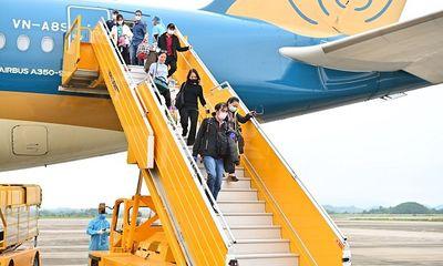Đón chuyến bay từ vùng dịch: Sân bay Vân Đồn áp dụng quy trình mới