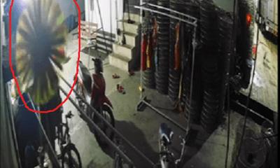 Điều tra vụ đạo chích dùng chổi che camera