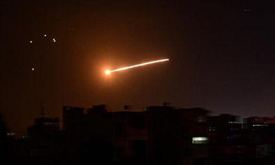 Syria kích hoạt hệ thống phòng không, đánh chặn cuộc tấn công bất ngờ nghi từ Israel