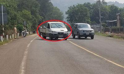 Nam thanh niên liều lĩnh cướp ôtô, đánh CSGT khi bị yêu cầu cách ly