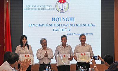 Hội Luật Gia - Hội Luật gia tỉnh Khánh Hòa: Sẽ tăng cường trợ giúp pháp lý cho vùng sâu, vùng xa