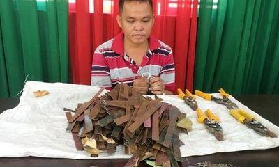 Đồng Nai: Bắt quả tang chủ tiệm sửa xe hóa