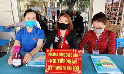 Hải Phòng: Cô giáo tiểu học viết đơn xin trực chốt chống dịch Covid-19