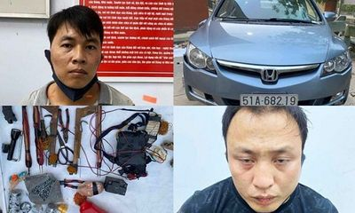 Lái ô tô đi trộm chó, nhóm đối tượng dùng súng điện, bột ớt chống trả quyết liệt