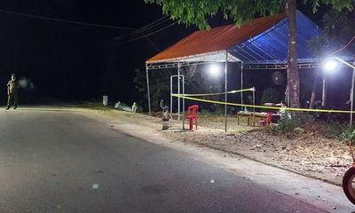 Quảng Nam: Khởi tố đối tượng tấn công lực lượng chức năng tại chốt kiểm dịch Covid-19