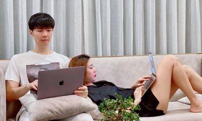 Lộ diện chồng sắp cưới á hậu Thúy Vân, được khen đẹp trai như diễn viên Hàn Quốc