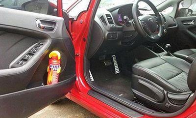 Bộ Công an đề xuất bỏ quy định xe ô tô 4 chỗ phải có bình chữa cháy