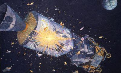 Cận cảnh vụ nổ bình oxy suýt lấy mạng phi hành đoàn trên tàu Apollo 13