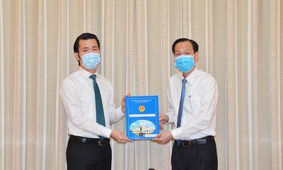 Ông Trương Tấn Sơn được bổ nhiệm chức chức Phó Chủ tịch quận Tân Bình, TP.HCM