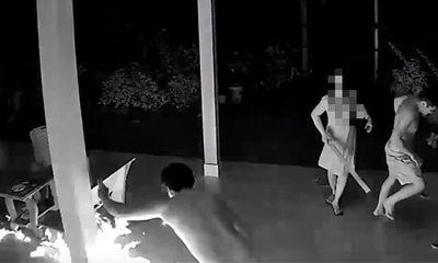 Tiền Giang: Vợ ôm con về nhà ngoại, chồng ném bom xăng khủng bố tinh thần