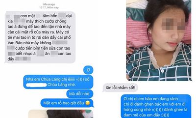 Đang yên đang lành bị nhắn tin đánh ghen, cô gái gửi ảnh mặt mộc khiến đối phương