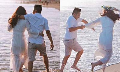 Bảo Thy hiếm hoi chia sẻ khoảnh khắc ngọt ngào với chồng đại gia sau gần 6 tháng kết hôn