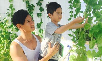 Vợ chồng Lý Hải - Minh Hà có vườn rau xanh mướt