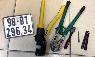 Hà Nội: Mang xe trộm được đi dạo, người đàn ông bị tóm gọn