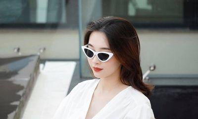 Hoa hậu Đặng Thu Thảo khoe nhan sắc rực rỡ qua ống kính ông xã