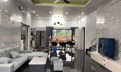 Ngỡ ngàng biệt phủ rộng 800 m2 ở Ba Vì của cặp anh em triệu view Tam Mao TV