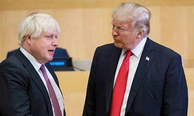 Thủ tưởng Anh điện đàm với Tổng thống Mỹ sau khi xuất viện