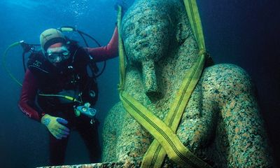 Tìm thấy lăng mộ của Pharaoh Nastasen cùng kho báu quý giá bị chôn vùi dưới nước suốt 2.300 năm