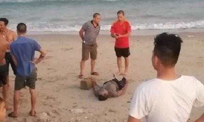 Thông tin mới vụ thi thể nam giới bị cột vào tảng đá tại bờ biển Bình Thuận