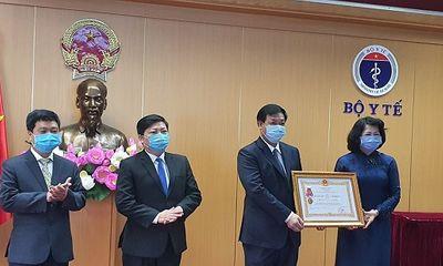 Phó Chủ tịch nước biểu dương ngành y tế trong công tác phòng, chống dịch Covid-19
