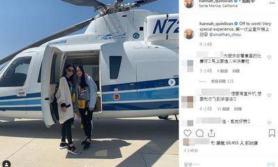 Cuộc sống sang chảnh như bà hoàng của vợ Châu Kiệt Luân: Được trực thăng riêng đưa đi làm