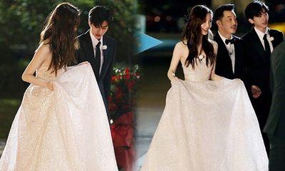 Thái Từ Khôn nâng váy cho Angelababy,