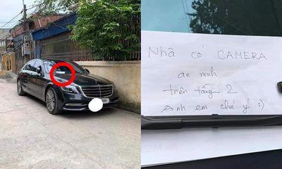 Đỗ xe tiền tỷ ngoài đường, chủ Mercedes để lại mẩu giấy nhỏ, đọc nội dung ai cũng thấy bất ngờ