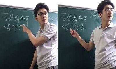 Tiết lộ lý do thầy giáo soái ca bất ngờ dừng livestream giảng bài