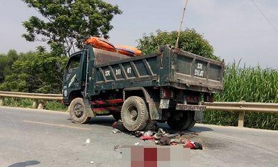 Va chạm với xe tải, nam thanh niên tử vong trên đường về quê nghỉ lễ