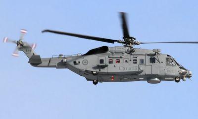 Trực thăng Canada mất tích khi đang diễn tập quân sự ngoài khơi