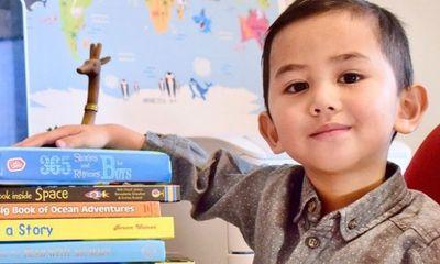 Điều ít biết về cậu bé 3 tuổi lọt vào top 2,2 % dân số thông minh nhất thế giới