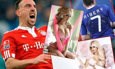 Người hùng mặt sẹo Ribery: Suýt ngồi tù vì bị người đẹp gài bẫy do