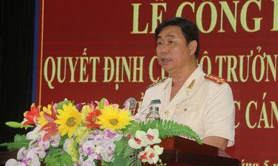 Phó Giám đốc Công an Bình Định giữ chức Giám đốc Công an tỉnh Quảng Ngãi