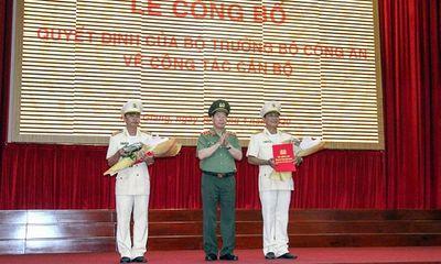 Bổ nhiệm 2 Phó giám đốc Công an tỉnh Đồng Nai