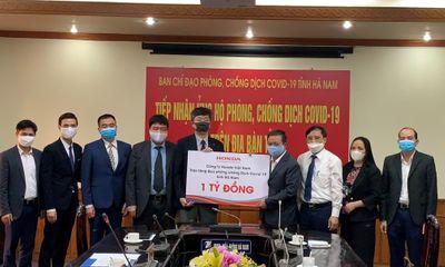 Honda Việt Nam chung tay hỗ trợ đẩy lùi dịch bệnh Covid-19