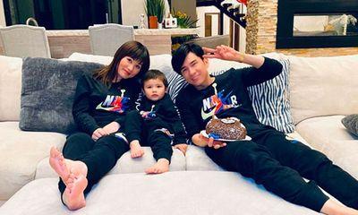 Vợ Đan Trường chi 150 triệu/tháng thuê vú em biết 3 ngoại ngữ chăm sóc con trai