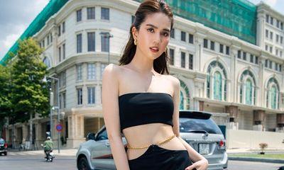 Ngọc Trinh khoe eo ấn tượng, diện trang phục