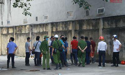 Khám nghiệm hiện trường vụ cháy kinh hoàng 3 người tử vong ở Gia Lâm