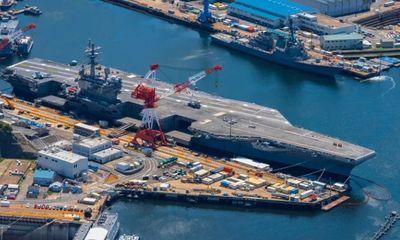 Tin tức quân sự mới nóng nhất ngày 7/5: Siêu tàu sân bay Ronald Reagan của Mỹ tái xuất