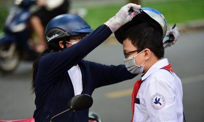TP.HCM: Học sinh phải đi học cả ngày thứ 7, bắt buộc đeo khẩu trang khi tới trường