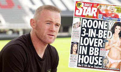 Wayne Rooney: Bị gái gọi phanh phui chuyện thác loạn và đời tư đáng xấu hổ